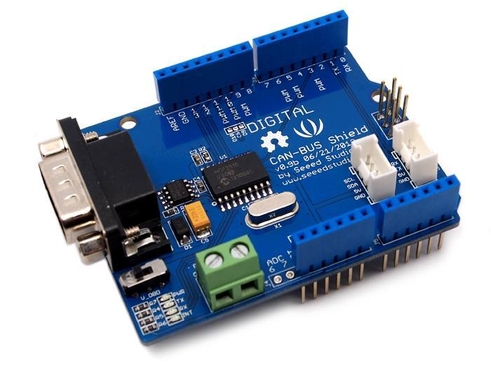 CAN-BUS Shield for Arduino - YouTube